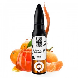 E Liquide Signature Orange Black Edition - 50 ml - Riot Squad
