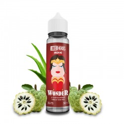 E liquide Wonder 50ML Liquideo Heroes