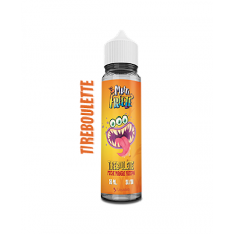 E liquide Tireboulette Peche Mangue Passion 50ML LIquideo Multi Freeze