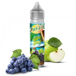 E liquide Grappe Apple 50 ml - Pack à l'Ô - TPD All Europe