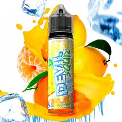 E liquide Citron Mandarine ICE 50ml Devil Squiz - Avap