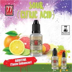 Additif Citric Acid 10ML - 77 Flavor