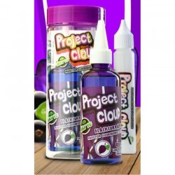 E Liquide Blackcurrant Soda Grape - Project Cloud 100ML TPD