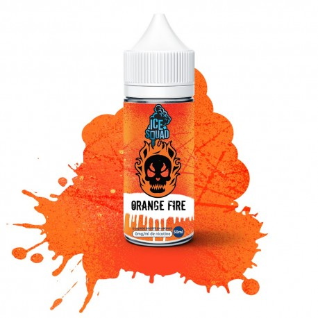E Liquide Orange Fire - Ice Squad 50ML