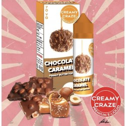 E Liquide Chocolate Caramel - Creamy Craze 50 ML (Shortfill)