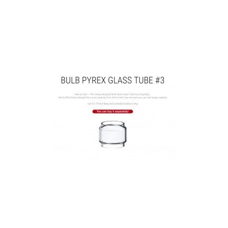 Tube Pyrex Resa Prince - 7,5ml de contenance