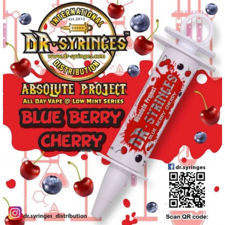 E Liquide DR Syringues Berry Cherry 50 ML (Mix & Vape)