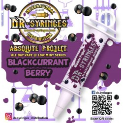 E Liquide DR Syringues Blackcurrant Berry 50 ML