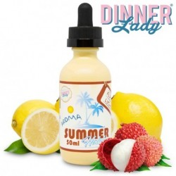 E Liquide Flip Flop Lychee - Summer Holidays - Dinner Lady 50 ml