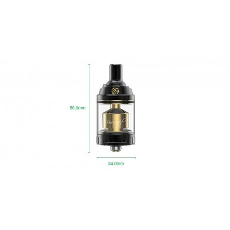 Atomiseur Rose MTL RTA Gold Edition 3.5ml Fumytech