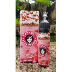 E Liquide Caramel - Strawberry / Flamingo 50ML (Mix & Vape)