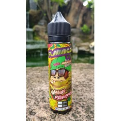 E Liquide Mango - Pineapple  / Flamingo 50ML (Mix & Vape)