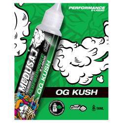 E Liquide OG Kush - PERFORMANCE - Medusa 50ML