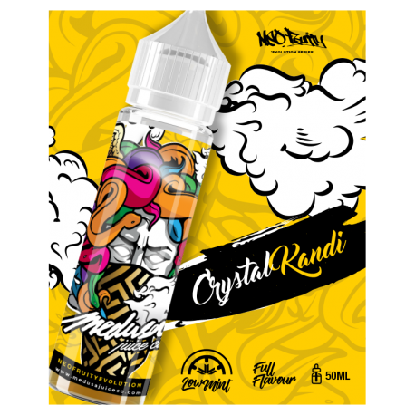 E Liquide Crystal Kandi - Evolution - Medusa 50ML