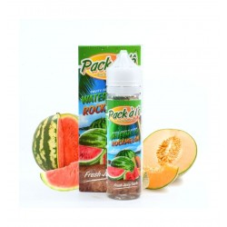 Eliquid Watermelon Rockmelon -50ml - Pack à l'Ô