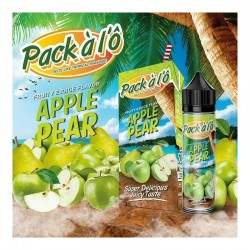 Eliquid Apple Pear - 50 ml - Pack à l'Ô