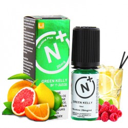 E-liquide Green Kelly -  Nicotine +- 10 ml - TJuice