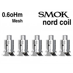 Pack de remplacement Kit Nord Smok Mesh 0.60