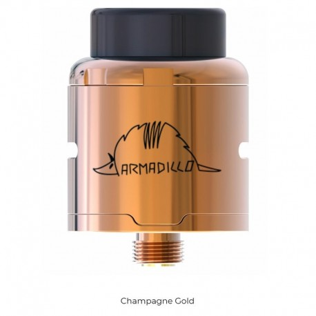 Atomiseur Armadillo RDA - Oumier champagne gold