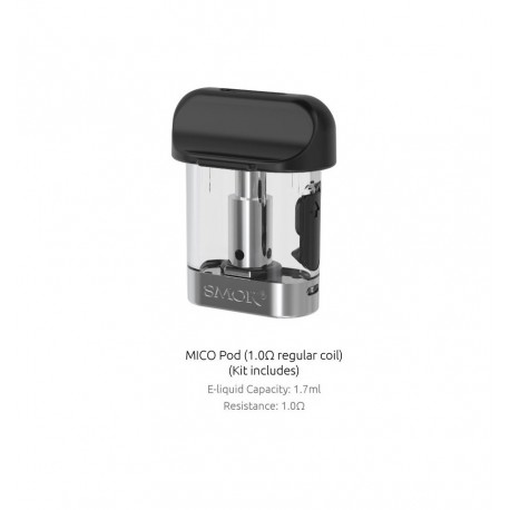 Pod Mico 1,7 ml/3 Smok 1 ohm