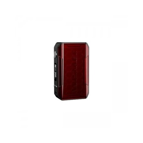 Box Mod Sinuous V200 TC Wismec rouge