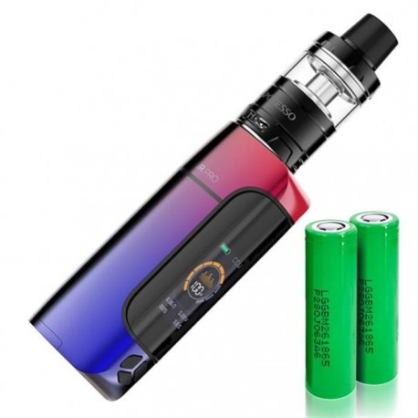 Kit Armour Pro + Cascade Baby - Vaporesso Red blue