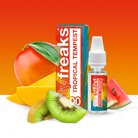 E liquide Tropical Tempest  Fifty Freaks 10ML (Pack de 10)