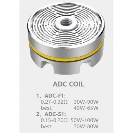 Ample Mace Tank Coil /3 ADC F1