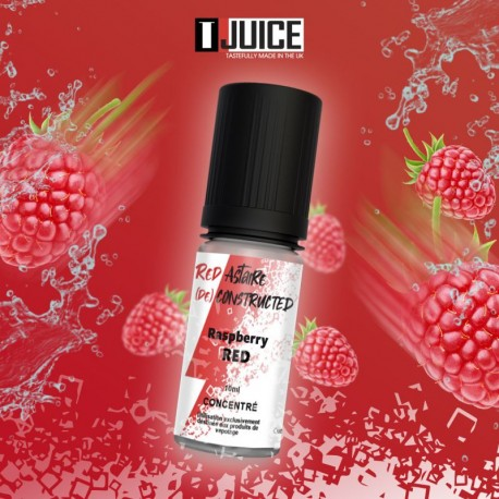 Concentré Red Astaire Deconstructed Framboise Red 10 ml TJuice