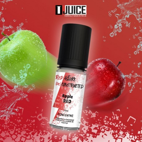 Concentré Red Astaire Deconstructed Pomme Red 10 ml TJuice
