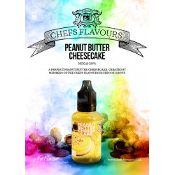 Concentré Peanut Butter Cheese Cake 30 ml Chefs Flavours (pack de 3)